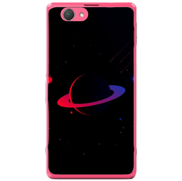 Husă Dark Red Planet Sony Xperia Z1 Compact D5503-Husa-Guardo.shop