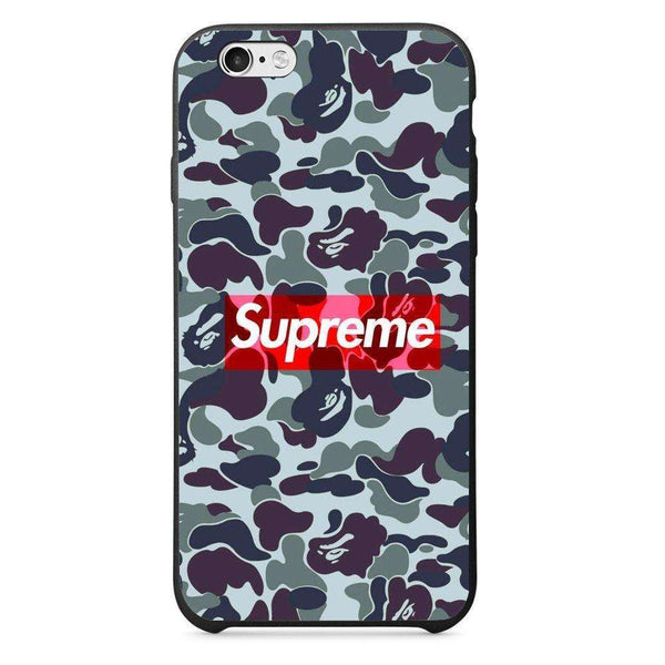 Husă Dark Supreme Camo APPLE Iphone 6-Husa-Guardo.shop