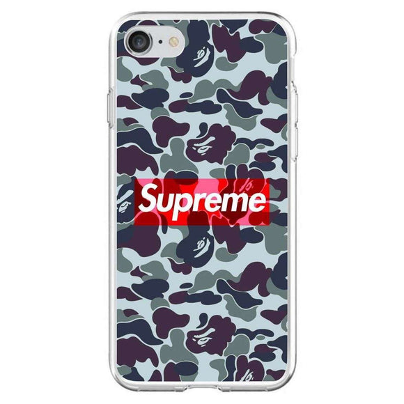 Husă Dark Supreme Camo APPLE Iphone 7-Husa-Guardo.shop