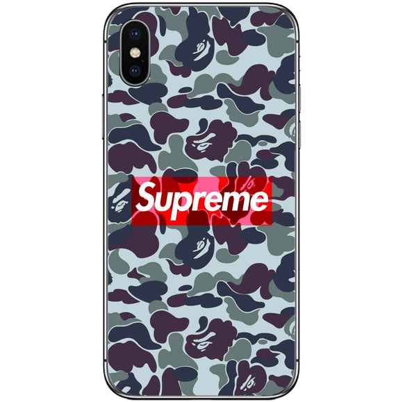 Husă Dark Supreme Camo APPLE Iphone X-Husa-Guardo.shop
