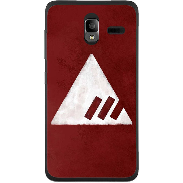 Husă Destiny Red Triangle Lenovo A850-Husa-Guardo.shop