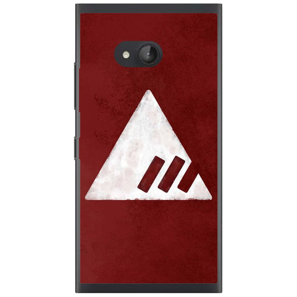 Husă Destiny Red Triangle Nokia Lumia 730 735-Husa-Guardo.shop