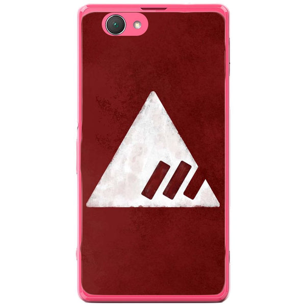 Husă Destiny Red Triangle Sony Xperia Z1 Compact D5503-Husa-Guardo.shop