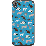 Husă Dog Pattern HTC Desire 728-Husa-Guardo.shop