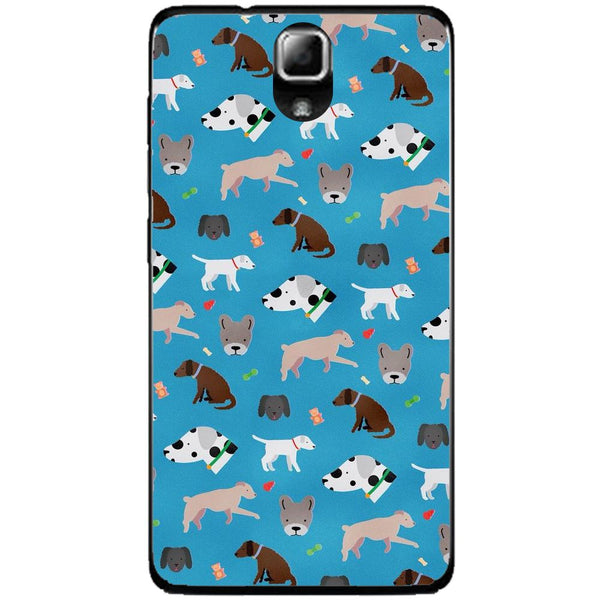 Husă Dog Pattern Lenovo A536-Husa-Guardo.shop