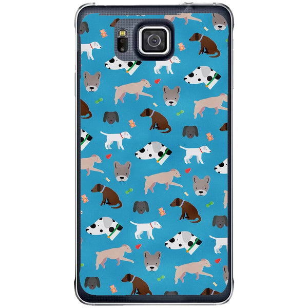 Husă Dog Pattern Samsung Galaxy Alpha G850-Husa-Guardo.shop