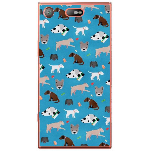 Husă Dog Pattern Sony Xperia Xz1 Compact-Husa-Guardo.shop