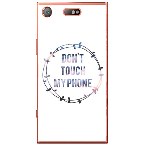 Husă Don T Touch My Phone Sony Xperia Xz1 Compact-Husa-Guardo.shop