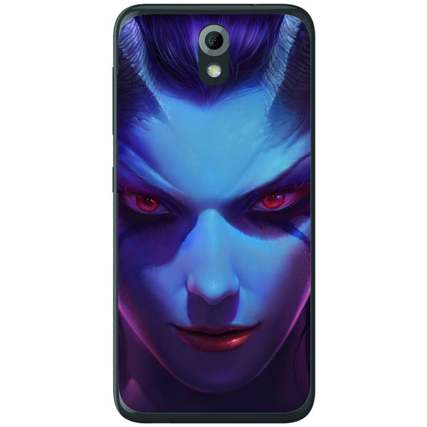 Husă Dota 2 - Queen Of Pain HTC Desire 620g-Husa-Guardo.shop