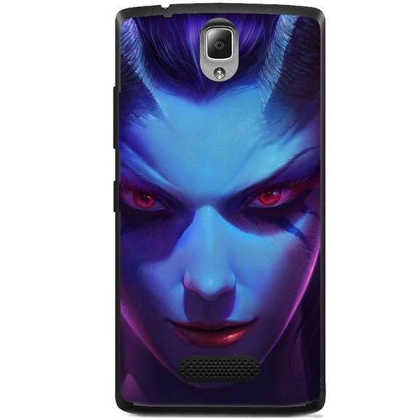 Husă Dota 2 - Queen Of Pain Lenovo A1000 Vibe A-Husa-Guardo.shop