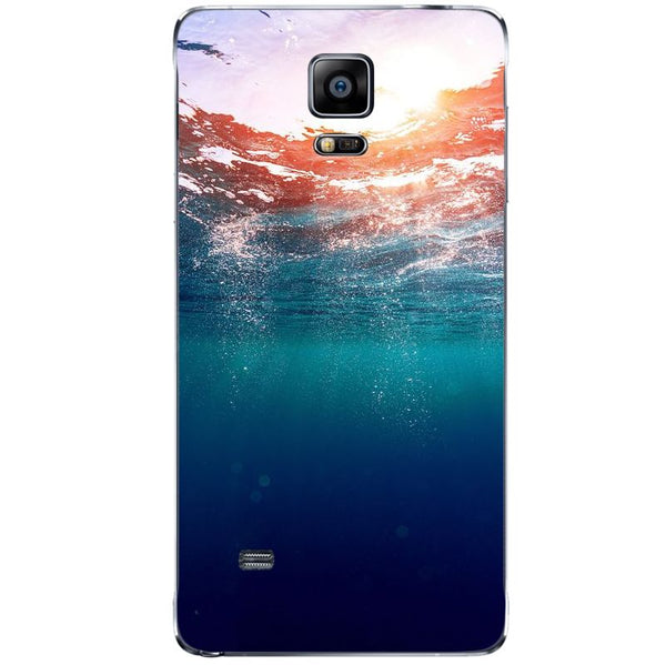 Husă Dreamy Underwater Bubbles Sun Light SAMSUNG Galaxy Note 4-Guardo.shop-Guardo.shop