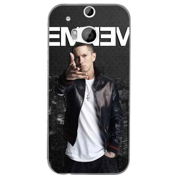 Husă Eminem Rap HTC One M8-Guardo.shop-Guardo.shop