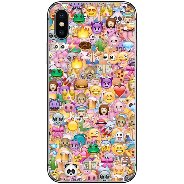 Husă Emojis APPLE Iphone X-Guardo.shop-Guardo.shop
