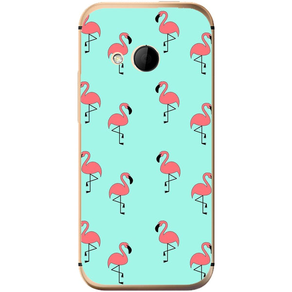 Husă Flamingos HTC One Mini 2-Guardo.shop-Guardo.shop