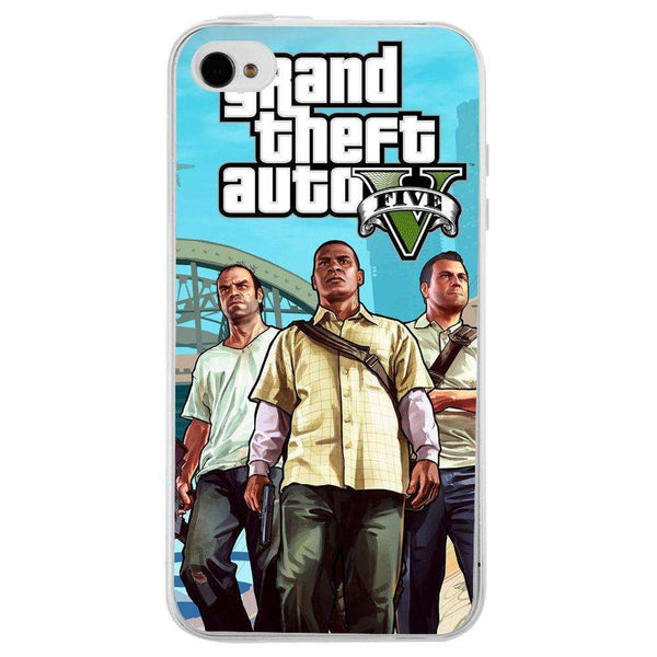 Husă Gta V Characters APPLE Iphone 4 - Guardo - Guardo,