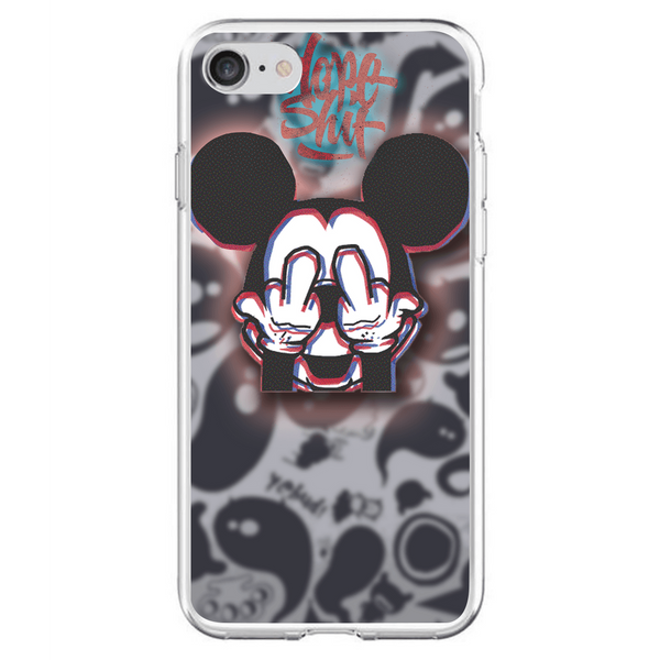 Husă Glitchy Mickey APPLE Iphone 7-Guardo.shop-Guardo.shop