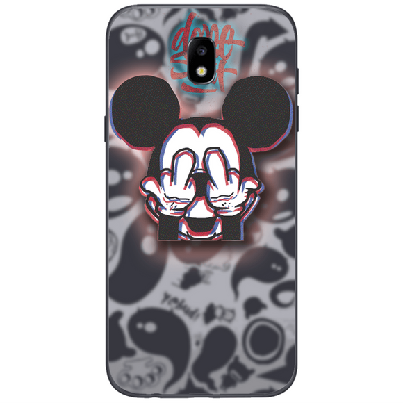 Husă Glitchy Mickey SAMSUNG Galaxy J5 2017-Husa-Guardo.shop