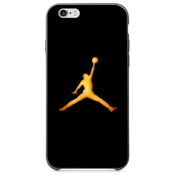 Husă Golden Jordan Logo APPLE Iphone 5s / Iphone SE-Husa-Guardo.shop