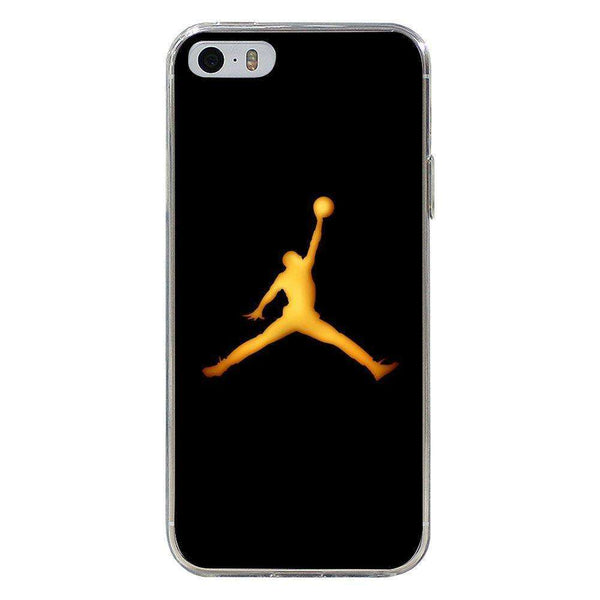 Husă Golden Jordan Logo APPLE Iphone 5 - Guardo - Guardo,