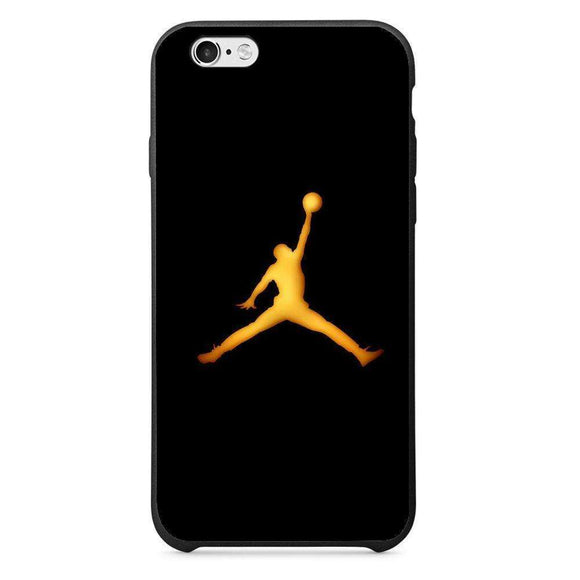 Husă Golden Jordan Logo APPLE Iphone 6-Husa-Guardo.shop