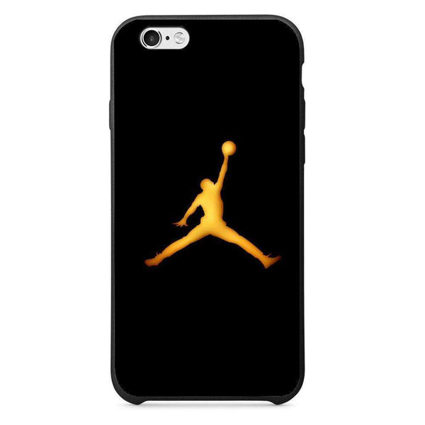 Husă Golden Jordan Logo APPLE Iphone 6 - Guardo - Guardo,