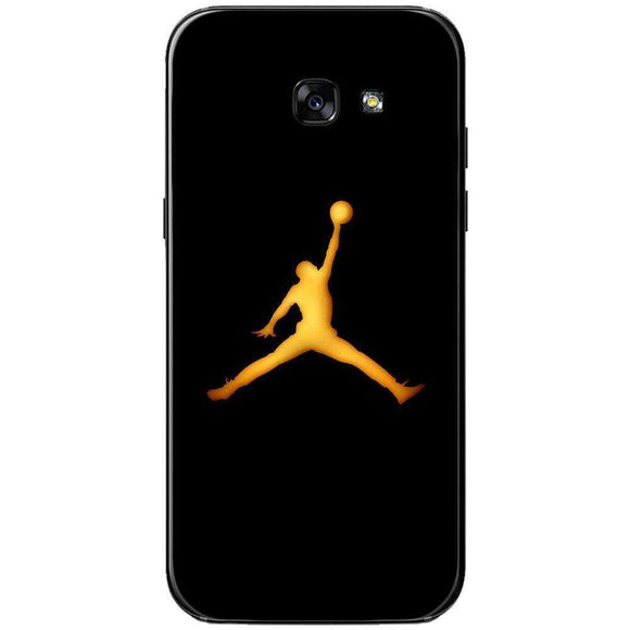 Husă Golden Jordan Logo SAMSUNG Galaxy A5 2017-Husa-Guardo.shop