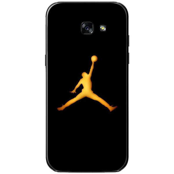 Husă Golden Jordan Logo SAMSUNG Galaxy A5 2017-Guardo.shop-Guardo.shop