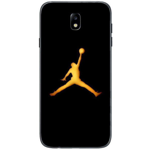 Husă Golden Jordan Logo SAMSUNG Galaxy J3 2017-Guardo.shop-Guardo.shop