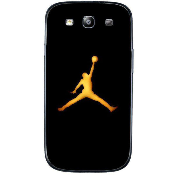 Husă Golden Jordan Logo SAMSUNG Galaxy S3-Husa-Guardo.shop