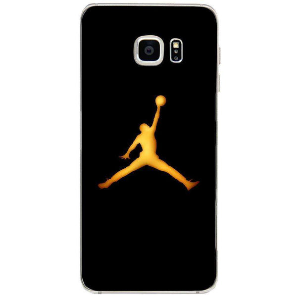 Husă Golden Jordan Logo SAMSUNG Galaxy S6 Edge Plus-Guardo.shop-Guardo.shop