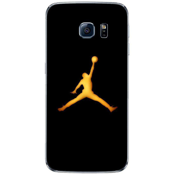 Husă Golden Jordan Logo SAMSUNG Galaxy S6 Edge - Guardo - Guardo,
