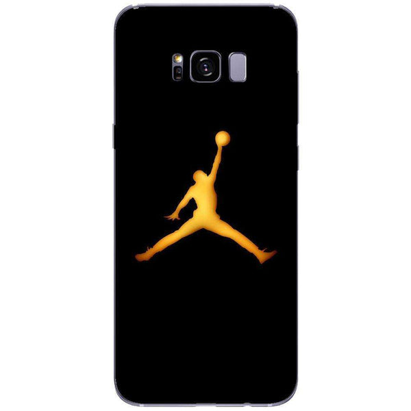 Husă Golden Jordan Logo SAMSUNG Galaxy S8 Plus-Guardo.shop-Guardo.shop