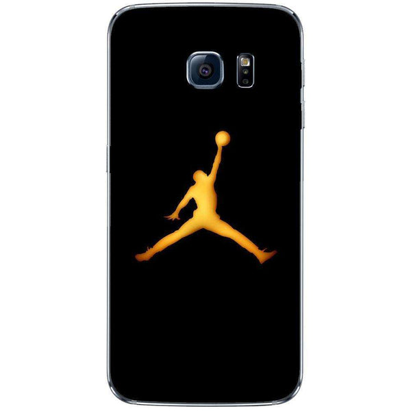 Husă Golden Jordan Logo SAMSUNG Galaxy S8-Guardo.shop-Guardo.shop