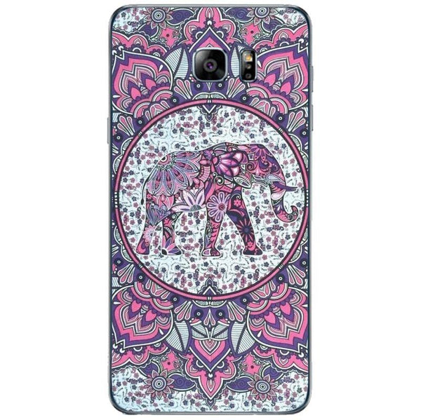 Husă Hispter Good Vibes Elephant Abstract SAMSUNG Galaxy Note 5-Guardo.shop-Guardo.shop