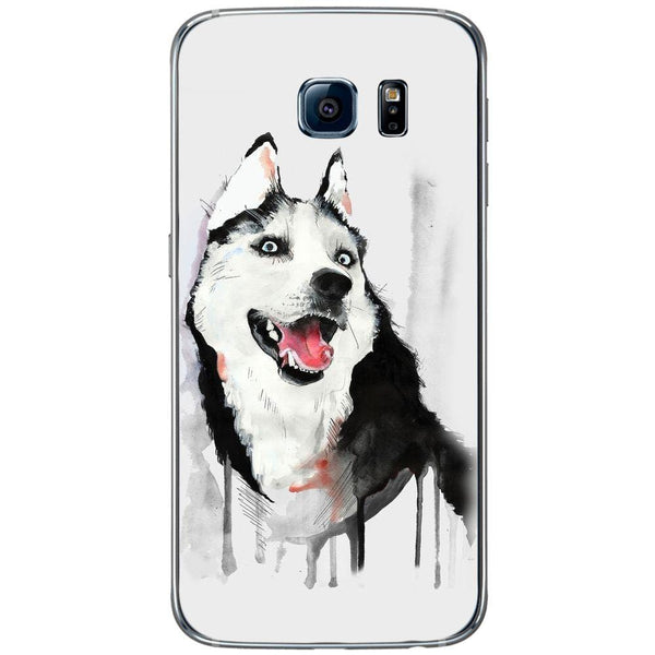 Husă Husky Paint SAMSUNG Galaxy S6-Guardo.shop-Guardo.shop