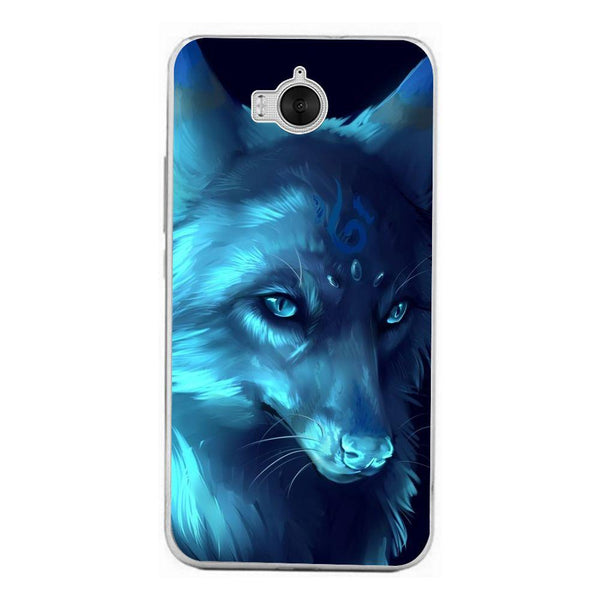 Husă Ice Wolf Anime Fantasy HUAWEI Y6 2017-Guardo.shop-Guardo.shop