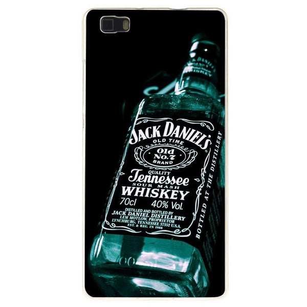 Husă Jack Daniels Blue Bottle HUAWEI P8 Lite-Guardo.shop-Guardo.shop