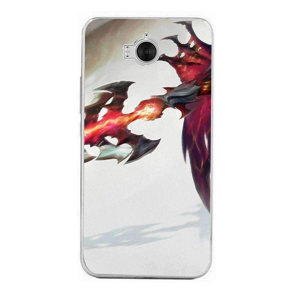 Husă League Of Legends - Aatrox HUAWEI Ascend Y6 2017 - Guardo - Guardo,