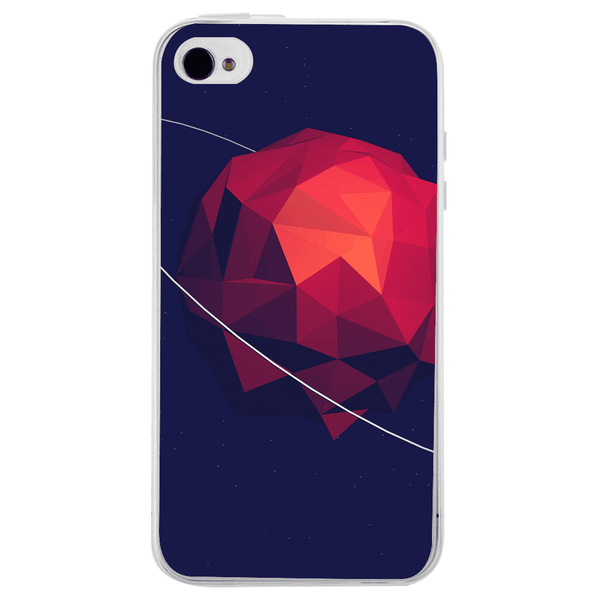 Husă Low Poly Space APPLE Iphone 4-Guardo.shop-Guardo.shop