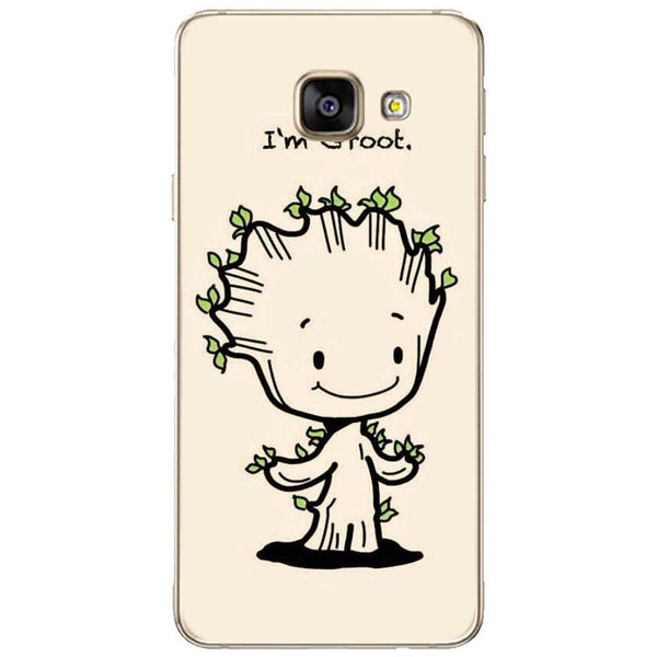 Husă Minimalist I'm Groot Drawing SAMSUNG Galaxy A3 2016-Guardo.shop-Guardo.shop