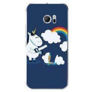 Husă Minimalistic Unicorn HTC 10-Guardo.shop-Guardo.shop