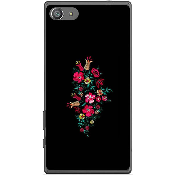 Husă Simple Flower Design Sony Xperia Z5 Compact-Guardo.shop-Guardo.shop