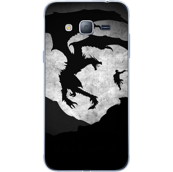 Husă Skyrim Dragon SAMSUNG Galaxy J3-Guardo.shop-Guardo.shop