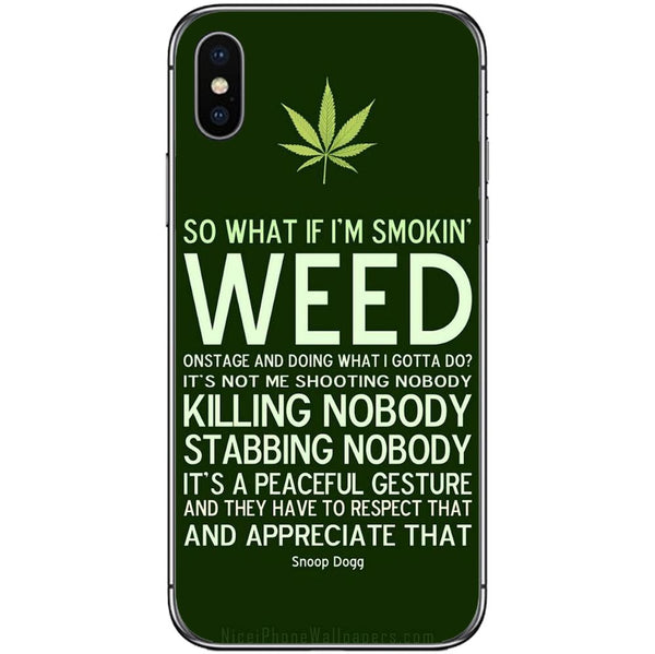 Husă So What Weed APPLE Iphone X-Guardo.shop-Guardo.shop