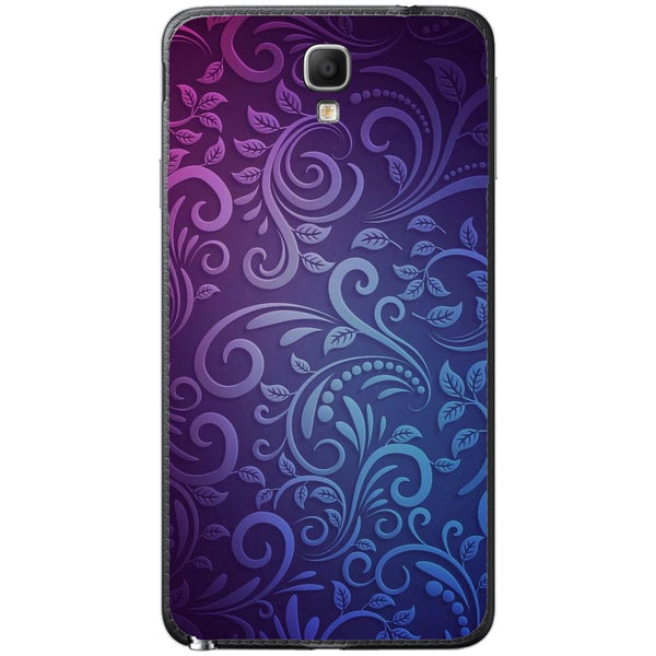 Husă Soft Purple Pattern SAMSUNG Galaxy Note 3 Neo-Guardo.shop-Guardo.shop