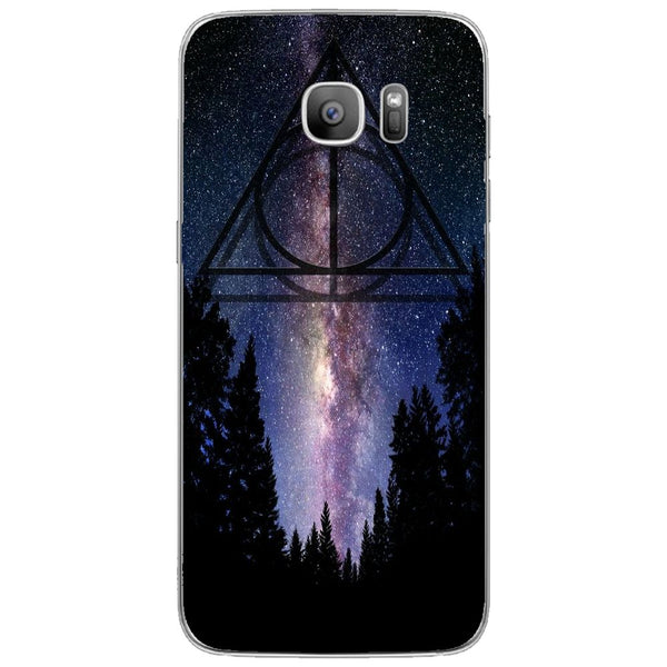Husă The Deathly Hallows Galaxy SAMSUNG Galaxy S7 Edge-Guardo.shop-Guardo.shop