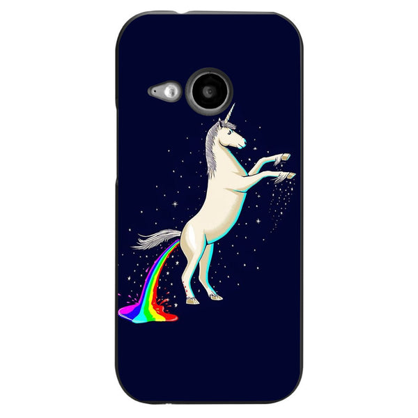 Husă Unicorn Shitting Rainbow HTC One Mini 2 (m8)-Guardo.shop-Guardo.shop