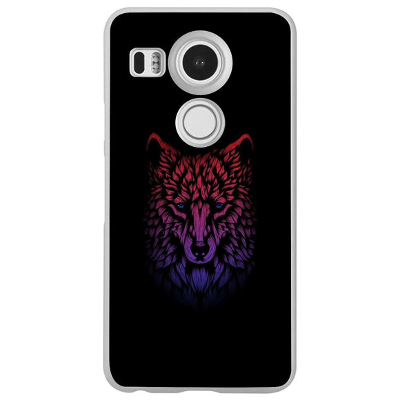 Husă Vaporwave Wolf Head LG Nexus 5x-Husa-Guardo.shop