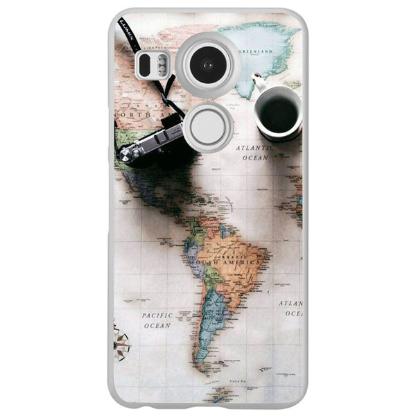 Husă World Maps Travel LG Nexus 5x-Guardo.shop-Guardo.shop
