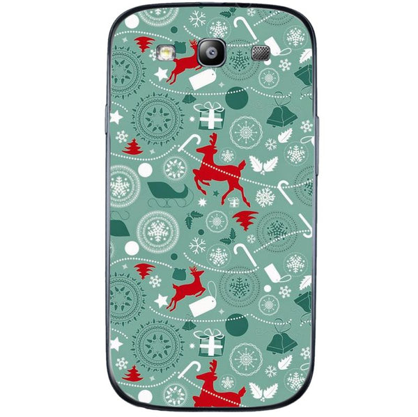 Husă X-mas Deer Pattern SAMSUNG Galaxy S3-Husa-Guardo.shop